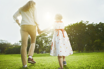 Walk with mom b