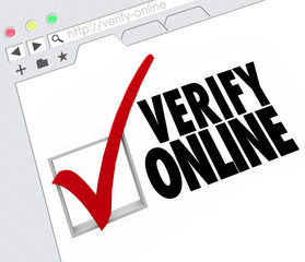 Verify Online Website Internet Resource Certification Approval