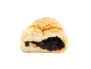 Raisin filled bread