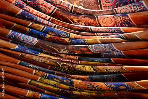 Poster Pile of boomerangs