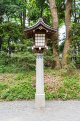 Lamp in tample ,Japan