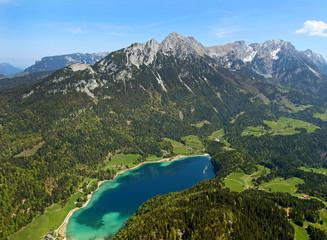 Wilder Kaiser und Hintersteiner See