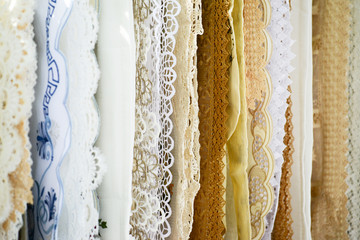 Traditional Greek table covers