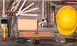 Vintage construction tools background - 69148444