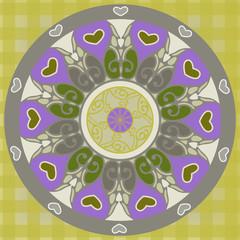 Орнаментальный круг