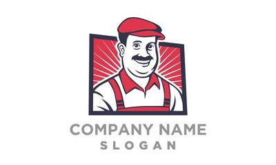 A Friendly Fat Man logo