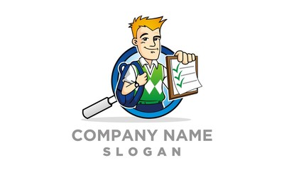 Smart Audit Man Logo
