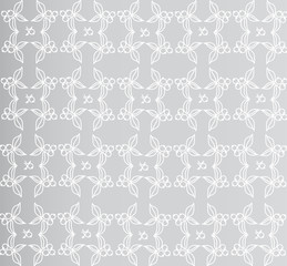 Pattern on a gray background