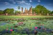 Leinwandbild Motiv Sukhothai historical park