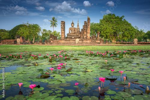 Papiers peints Ruine Sukhothai historical park