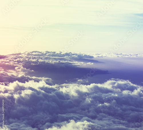 Above clouds - 69150438