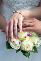 Alliances des mariés