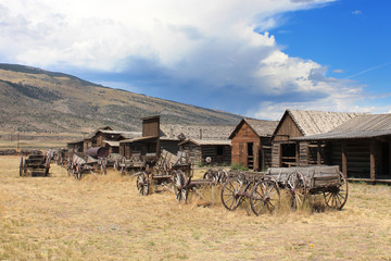 Ghost town - Cody / Wyoming,