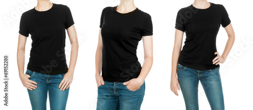 Black T-Shirts collection - 69152280