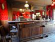 Leinwanddruck Bild - Ghost town (Saloon)  - Cody / Wyoming,