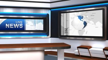 Live News Studio TV Studio 102g
