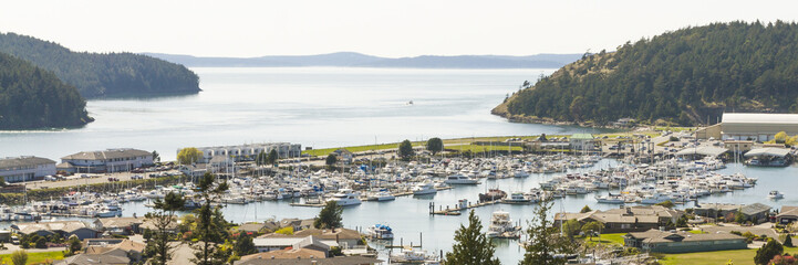 Anacortes Marina, Puget Sound and the San Juan Islands