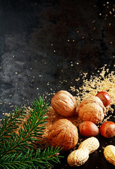 Traditional Christmas nuts