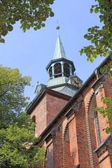 Lüneburg: Gotische Hallenkirche St. Michaelis (1440, Nieders.)