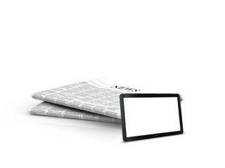 tablet newspaper