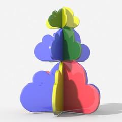 Abero Natale cloud