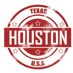 Houston stamp