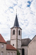 canvas print picture - Kirche in Guenviller