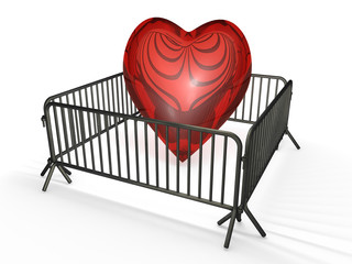 Herz - Gitter 3D