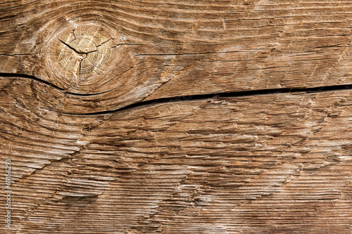 canvas print picture Old  brown wood