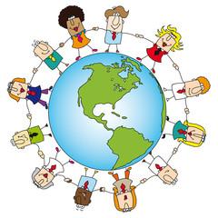 teamwork around the world