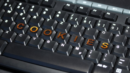keyboard with cookies - Tastatur mit Keksen - 16 to 9 - g1328