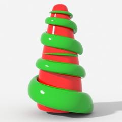 Albero Natale mesh