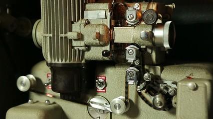 Offener 16mm Projektor