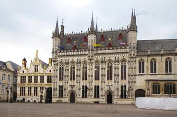 Бельгия. Архитектура Брюгге.