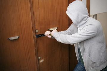 burglar home theft