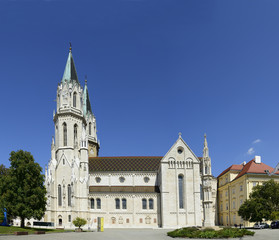 The monastery church in Klosterneuburg near Vienna