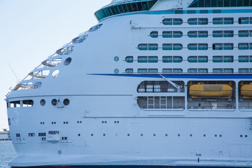 Aft Decks of Luxury Cruise Ship