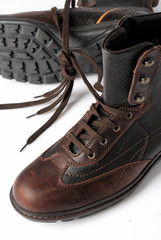 boots, brown, classic, shoe, style, vintage