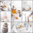 spa concept collage