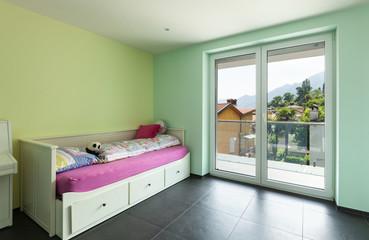 interior modern house, room