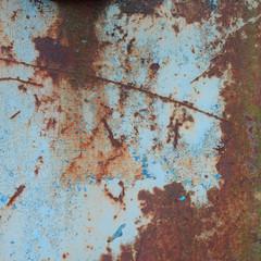Shabby rusty steel texture