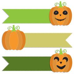 Funny pumpkin for Halloween