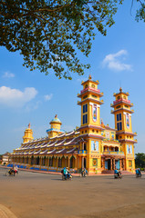 Cao Dai Temple in Tay Ninh province, Vietnam