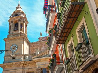 View of Pamplona.Navarre.Spain