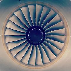jet engine passenger plane