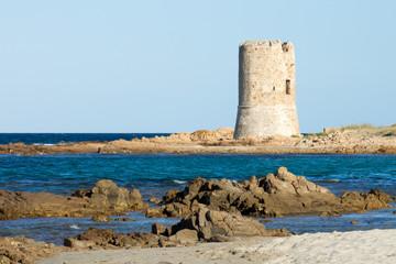 Watchtower on the beach