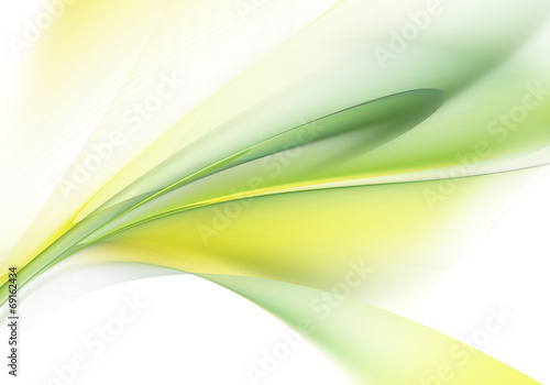 Staande foto Fractal waves Abstract background