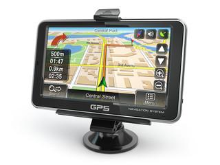 GPS navigation system.