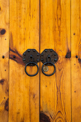 korea wooden door