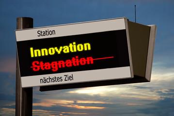 Anzeigetafel 4 - Innovation
